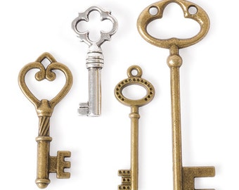 Large Key Charms (STEAM025)
