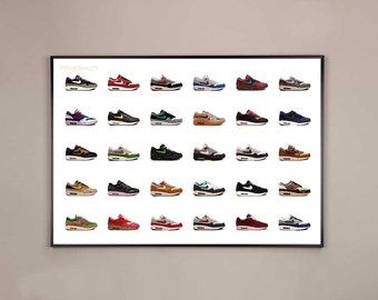 NIKE AIR MAX 1 limited edition poster pack