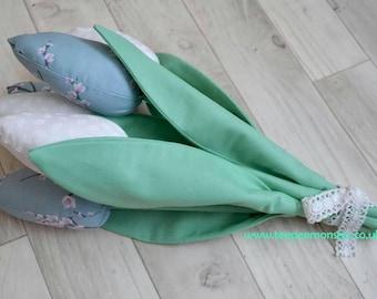 Fabric Tulips