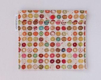 -Reusable - Zero waste - medium - Donuts snack bag