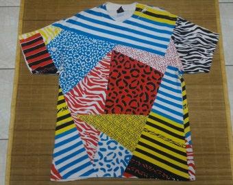 10 Deep Colourful Fullprint T-shirt