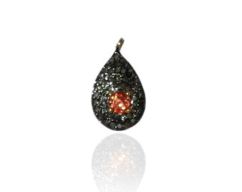 SDC-1405 M.Sapp Pave Diamond Charm