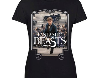 New Harry Potter Fantastic Beasts and Where to Find Them Tee Size S-XXL For Woman's