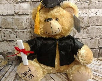 Graduation bear, Graduation announcement, 2017 Grad