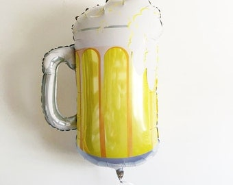 "Large shape beer mug frosty 34"", St Patricks day decoration, bbq decoration"