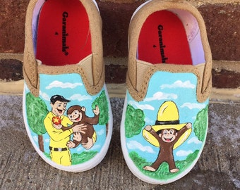 Curious george shoes