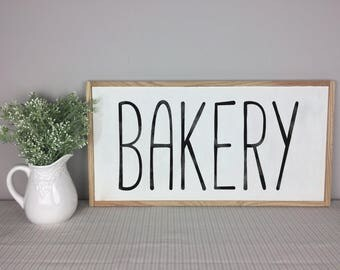 Bakery Sign | Kitchen Sign | Kitchen Decor | Farmhouse Decor | Bakery