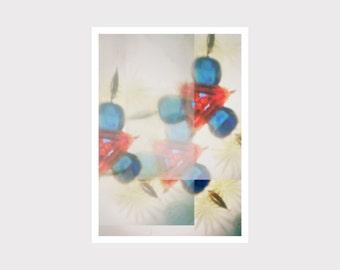 Print, Druck, Kunstdruck, Wall Art Print, Grafikdesign, wohnen, zu Hause, interior design, blau, blue
