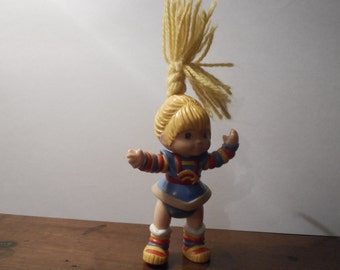 Rainbow Brite Toy Doll Action Figure  - vintage 1983