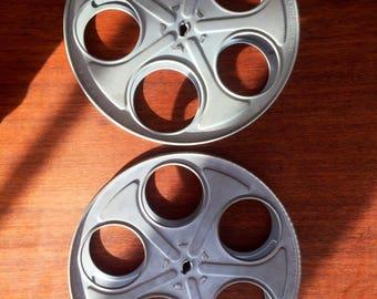 Pair of 35mm Goldenberg Brothers Film Reels