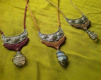 SALE mixed necklace macrame necklace necklace choice