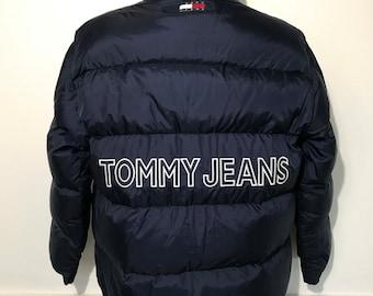 Vintage Tommy Hilfiger Down Winter Coat L