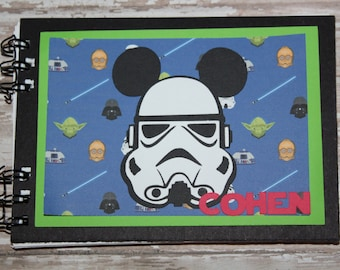Personalized Disney Autograph Book Inspired by StormTrooper