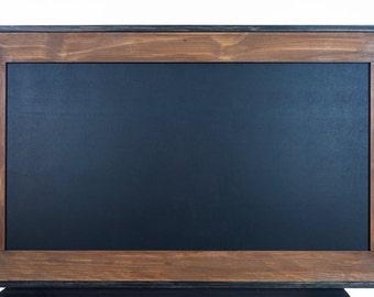Large Wood Framed Chalkboard