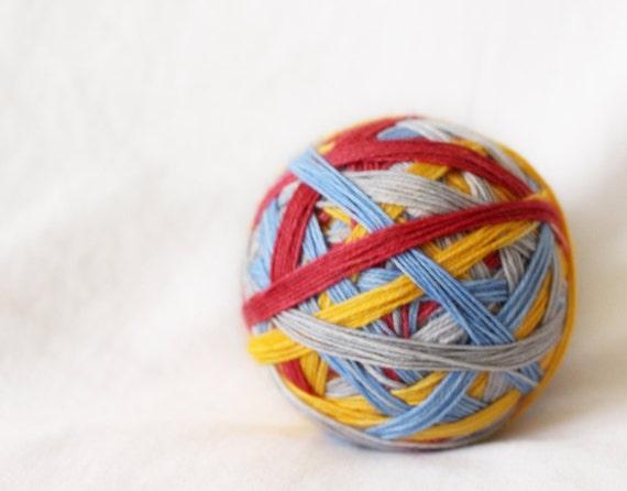 Yukon Cornelius - Self-Striping - Nuthatch - 75/25 superwash merino/ nylon sock yarn