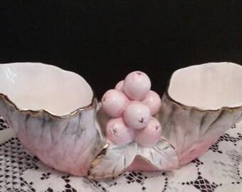 Vintage Glazed Porcelain Planter made by Ucagco, (# 1095/82)