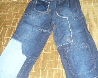 SNOOP DOGG Clothing Company jeans, Snoop Dogg jeans, true vintage hip hop denim, authentic, 90s hip-hop, West Side, OG, size W32