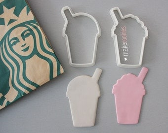 Frappuccino Cookie Cutters Set (2 pieces)