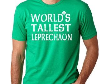 Leprechaun T-Shirt Funny Shirt Saint Patrick's Day Tee Shirt Irish Pub Drinking Shirt