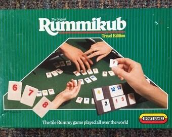 Original Vintage Rummikub Game Travel Edition Spears Games