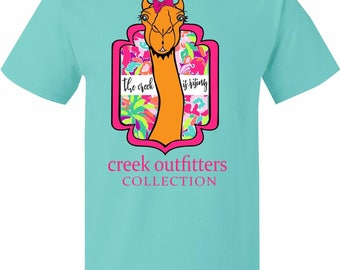 Camel Creek Outfitters T-shirt Campbell University