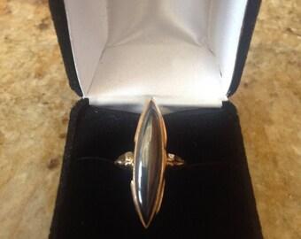 10k Onyx Gold Ring