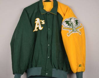 vintage starter diamond collection, oakland a's,oakland athletics college jacket,mlb baseball jacket,mlb bomber jacket, letterman jacket