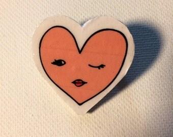 Sweetheart pin
