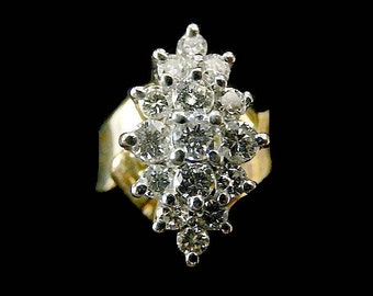 DIAMOND WATERFALL RING
