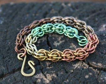 Niobium Fall Fading Medo-Persian Bracelet