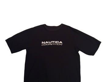 Vintage REVERSIBLE Nautica Tee Shirt