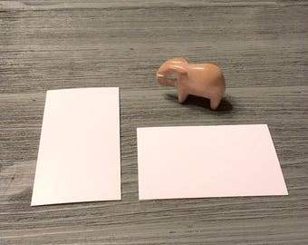 standard index card size