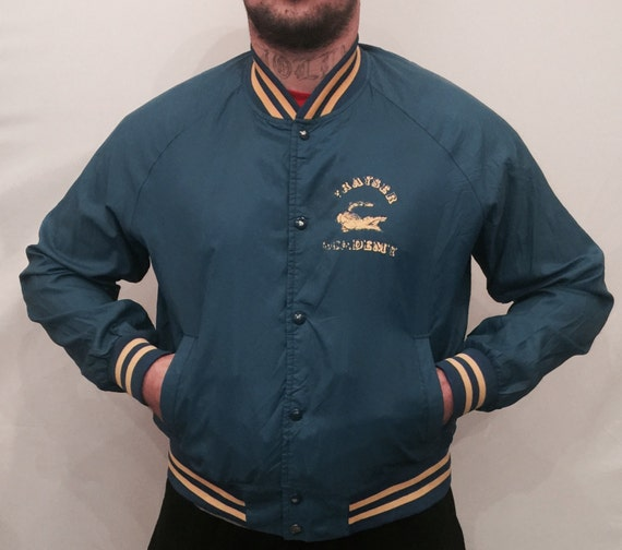 EV 103 Blue baseball jacket for men size l