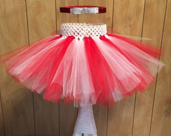Red and White Tutu, 4th of July Tutu, Patriotic Tutu, Fourth of July Tutu, Tutu for Girls, 4th of July Outfit,