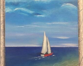 Cape cod sailboat