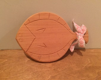 Small Wooden Fish Board - Swedish Vintage