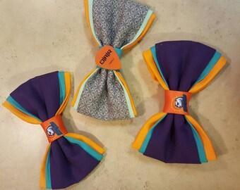 Custom Sports Team Hair Bow