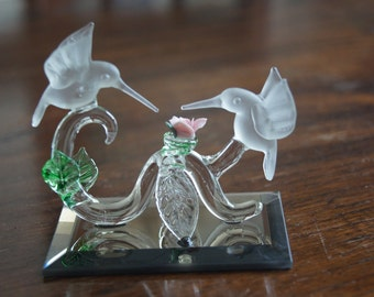Stunning Glass Humming Birds