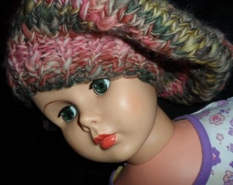 Knitted Wool Beret