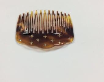 Vintage side comb