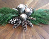 Rustic Holiday Table Cent...