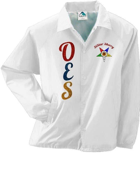 Glitter Order Of The Eastern Star Custom Sistar Jacket Oes