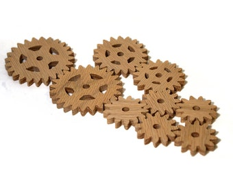 Oak Wooden Gears