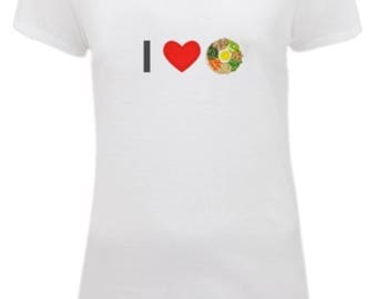 I Heart Bibimbap - Women's Fitted T-Shirt