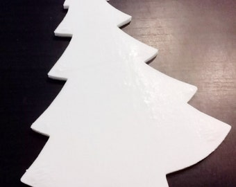 Christmas tree silhouette for Christmas decorations Christmas decoration 2017 decoupage DIY