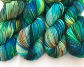 Kingfisher - Superwash Blue Faced Leicester DK 100g