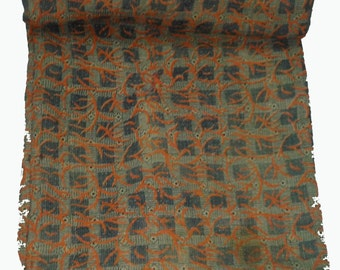 Reversible Very Fine Hand Stich Vintage Kantha Quilt,Bedcover,Bed Cover,Table Cloth,throw,Picnic Sheet,Yoga Mat,sheet,baby Quilt,blanket,