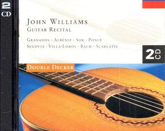 John Williams - Guitar Recital (2xCD) Decca - Classical Guitar - NM