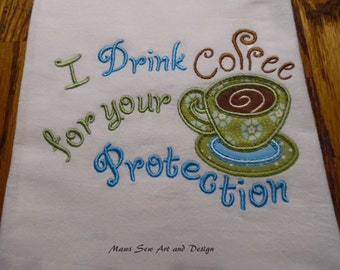 Kitchen Towel, Coffee Lover, Funny
