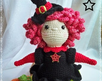Little Lucky Witch (Witch of the luck) - Amigurumi